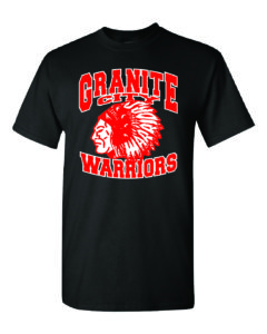 Minutemen Press Granite City Warriors T-shirt