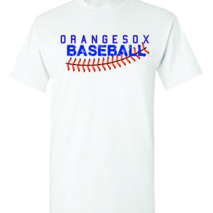 Orangesox White T-Shirt Minutemen Press